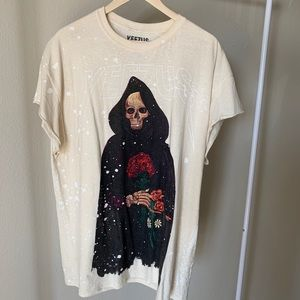 Kanye West Yeezus Tour Bleached Reaper
